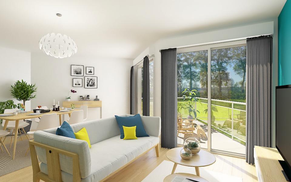 En Corse à Ajaccio, a proximité du centre ville, MAX IMMOBILIER vous propose un F4 de  95m² avec une terrasse de 9m².