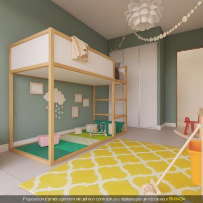 en corse ajaccio vente d 39 un appartement de type f4 dans programme immobilier neuf la palmeraie. Black Bedroom Furniture Sets. Home Design Ideas