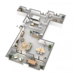 a vendre appartement de type f3 proche centre ville