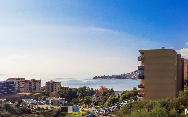 Vue mer et golfe d'Ajaccio, Appartements Neufs T4, Genovese, Vue mer, Loi Pinel