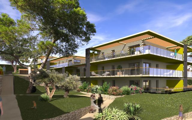 Vente d'appartements neufs de type F2, Proche d'Ajaccio, loi pinel