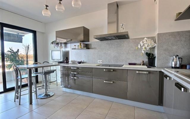Cuisine, Appartement F4 à vendre, Sanguinaires, Ajaccio