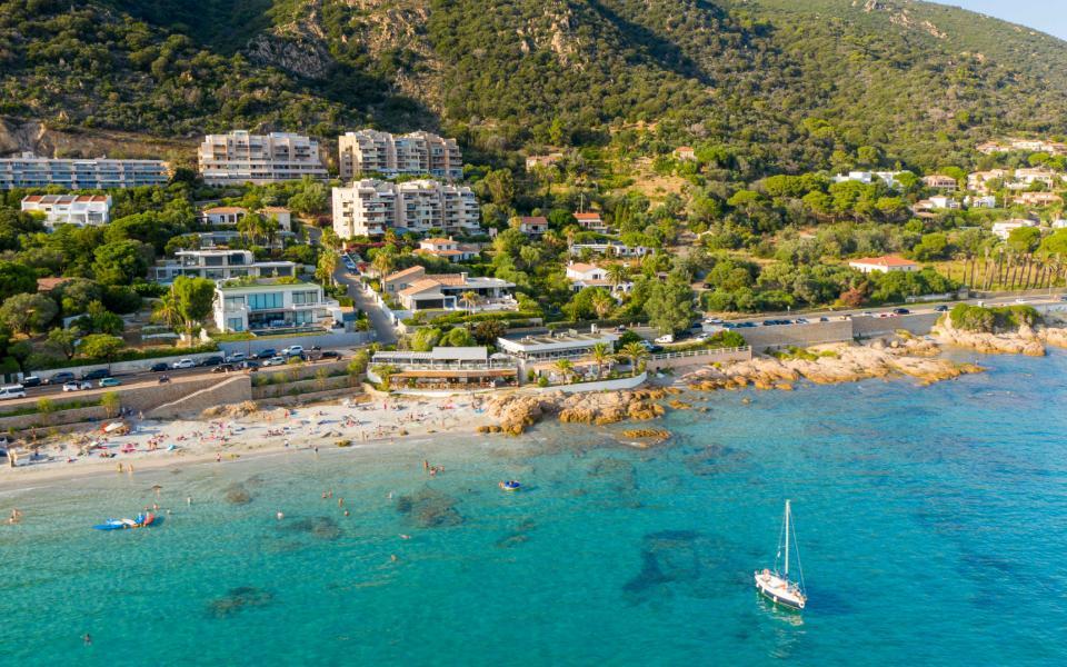 A vendre maison Route des Sanguinaires Barbicaghja plage