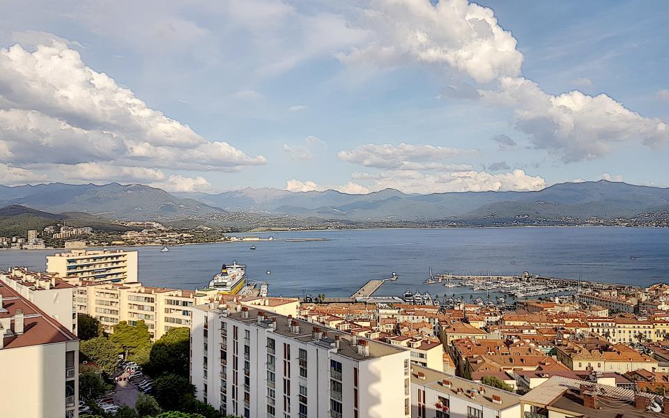 F2 à louer le Belvedere vue depuis l'appartement