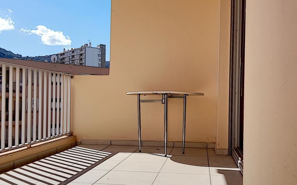 F3 meublé chemin de Biancarello terrasse