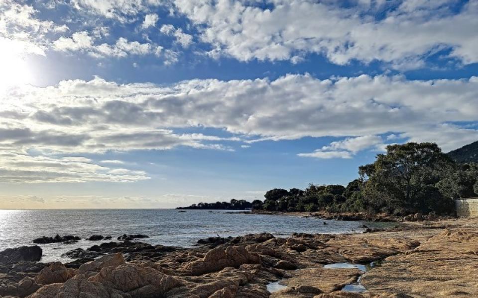 F4 à louer La Pinède  plage