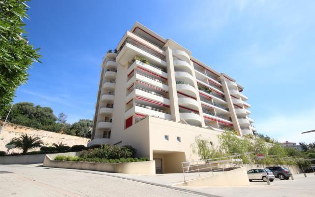 En Corse, à Ajaccio, vente d'un appartement au dernier étage de type F4 en Duplex, sur la route des Sanguinaires