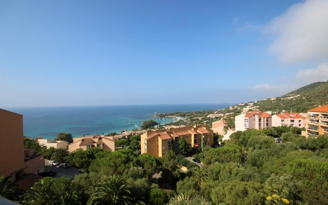 Vue mer imprenable, Appartement F3 Santa Lina, Sanguinaires