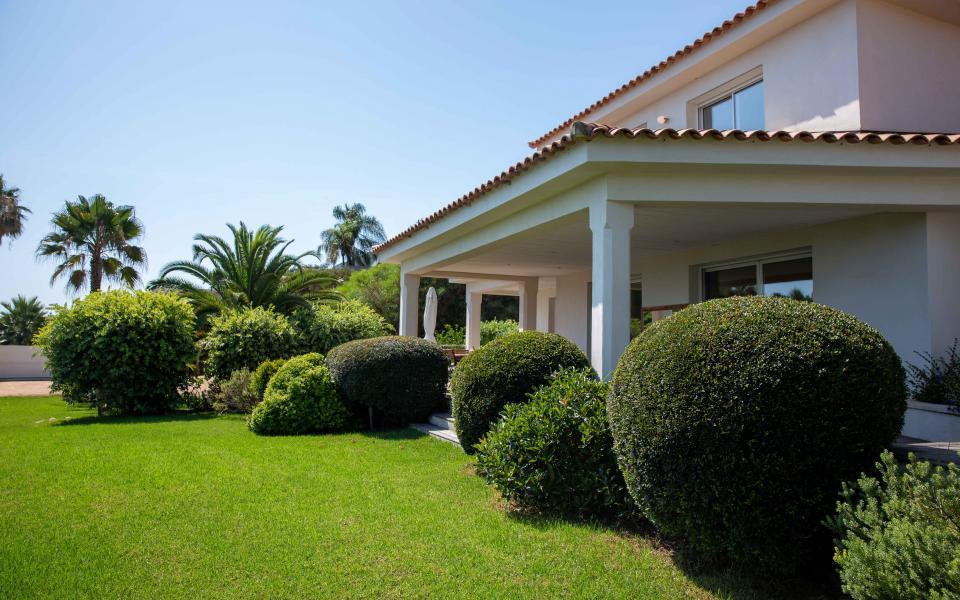 A vendre maison Route des Sanguinaires Barbicaghja jardin