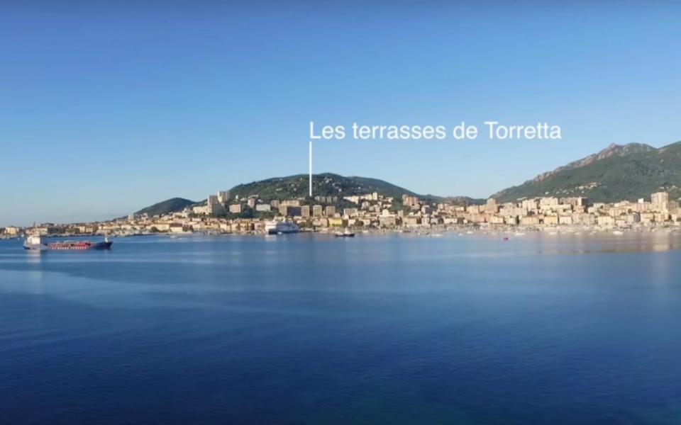 Programme neuf Ajaccio Terrasses de Torretta- MAX IMMOBILIER VUE MER
