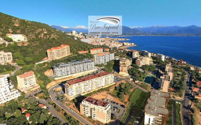 Localisation géographique F3, Programme neuf, Ajaccio, En Corse, Sanguinaires