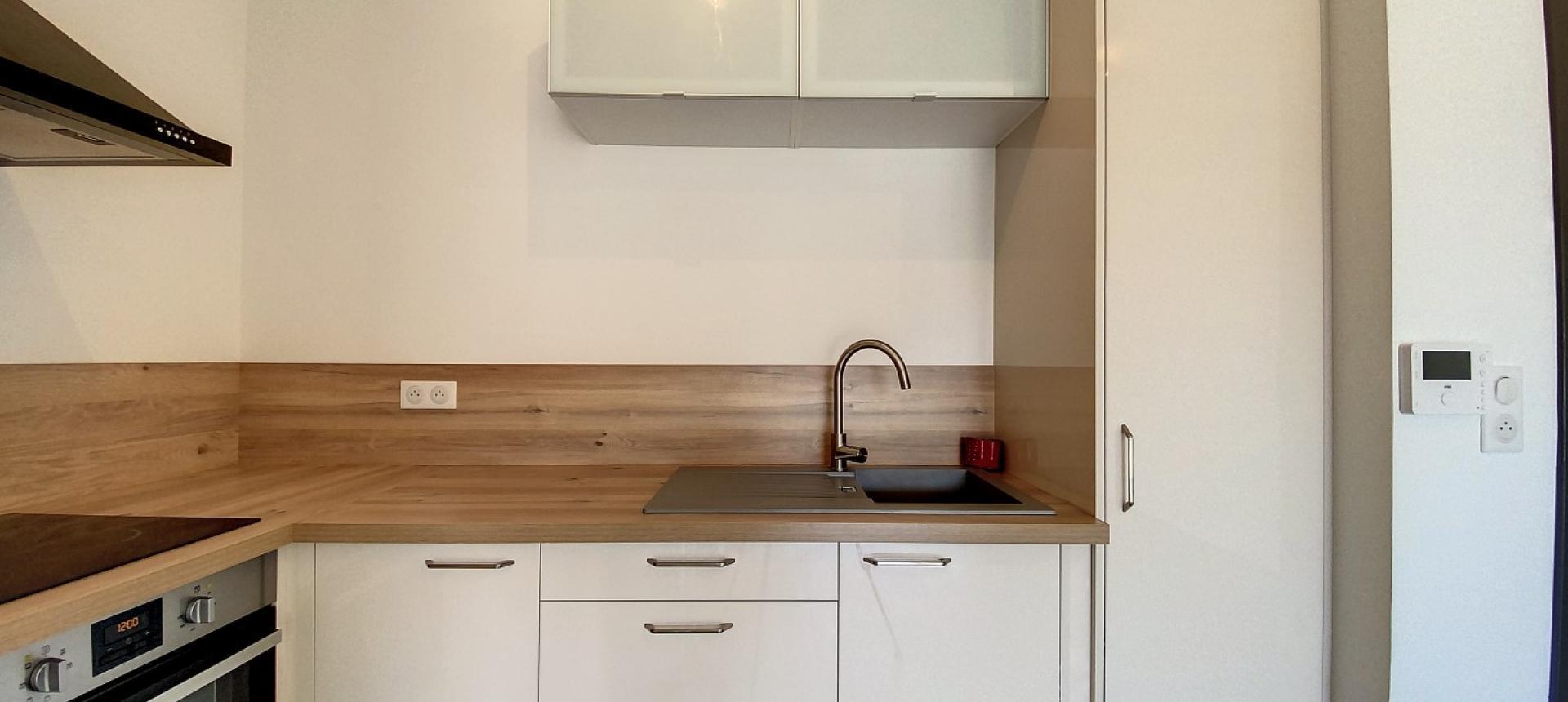 Cuisine - Vente appartement T2 à Ajaccio secteur Mezzavia