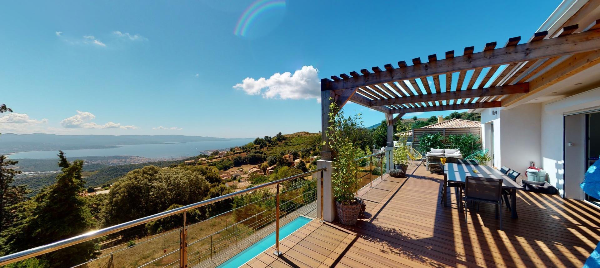 Villa ALATA vue 3