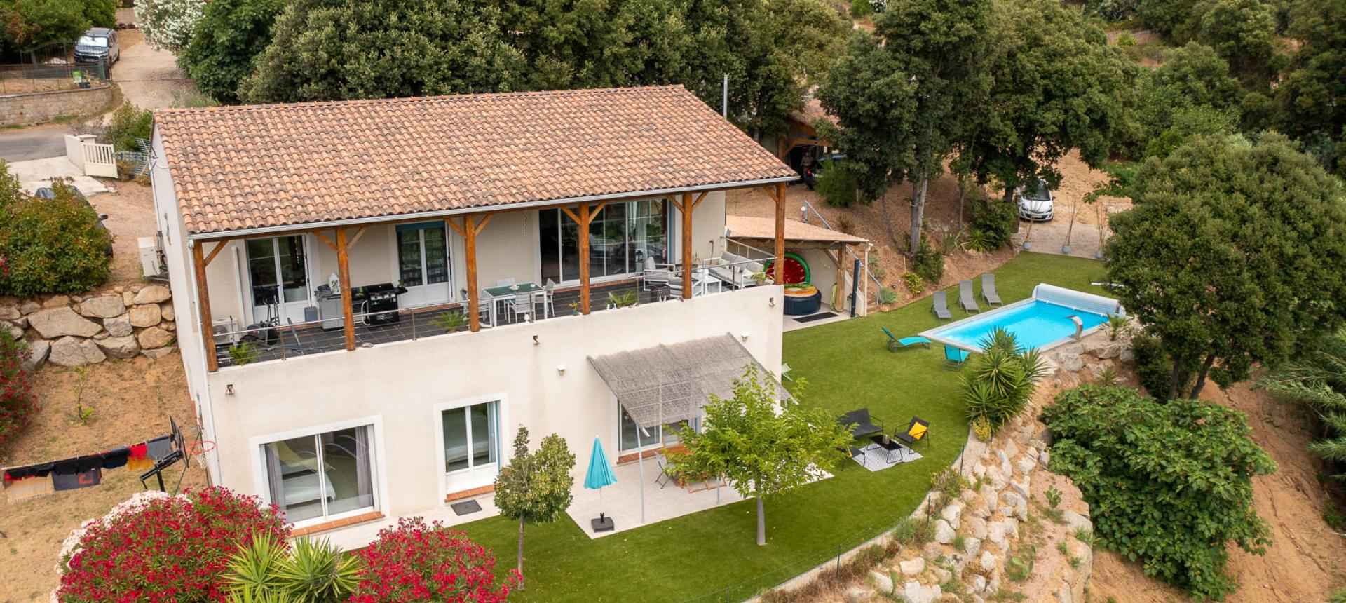 Villa à vendre proche Ajaccio - San Benedetto - Vue maison