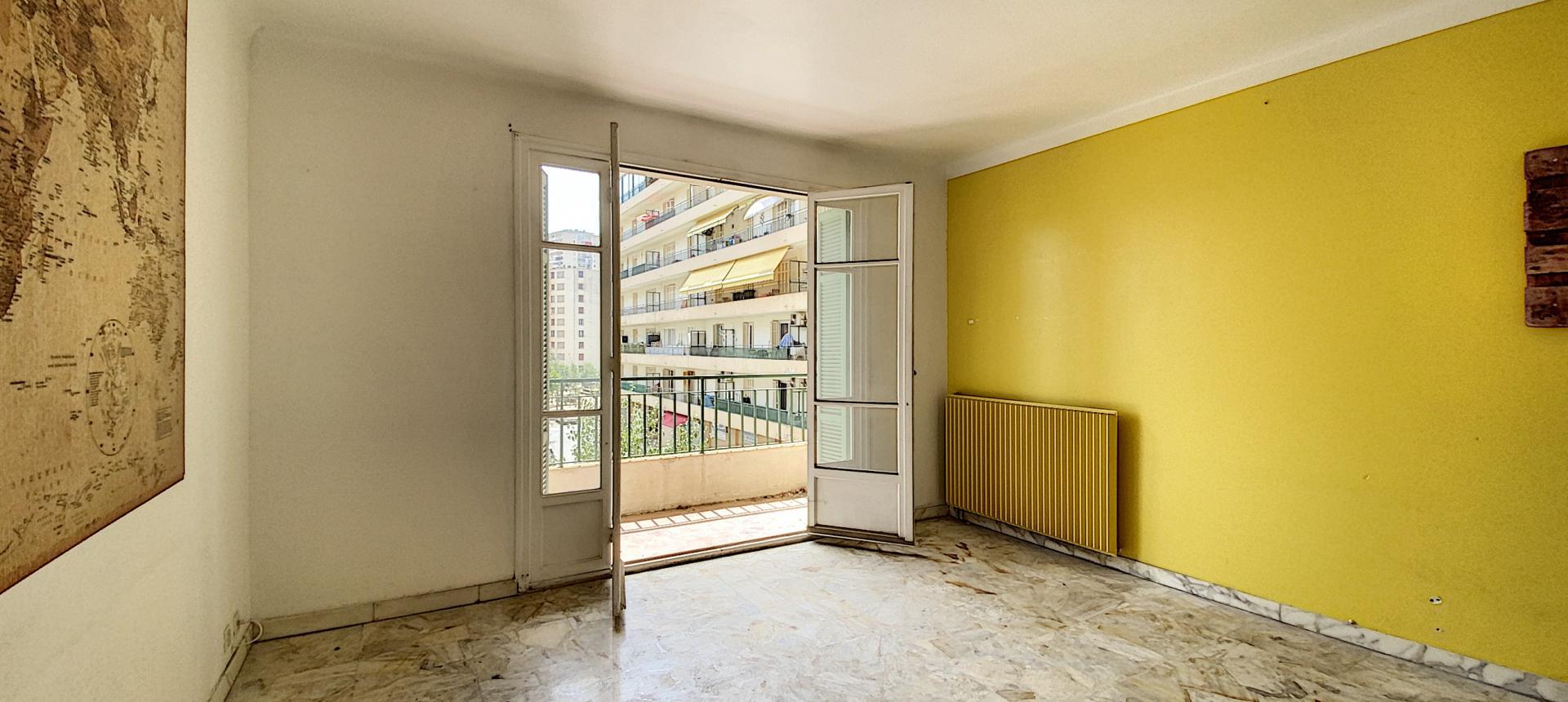 A vendre appartement F3 proche centre-ville - Vue salon