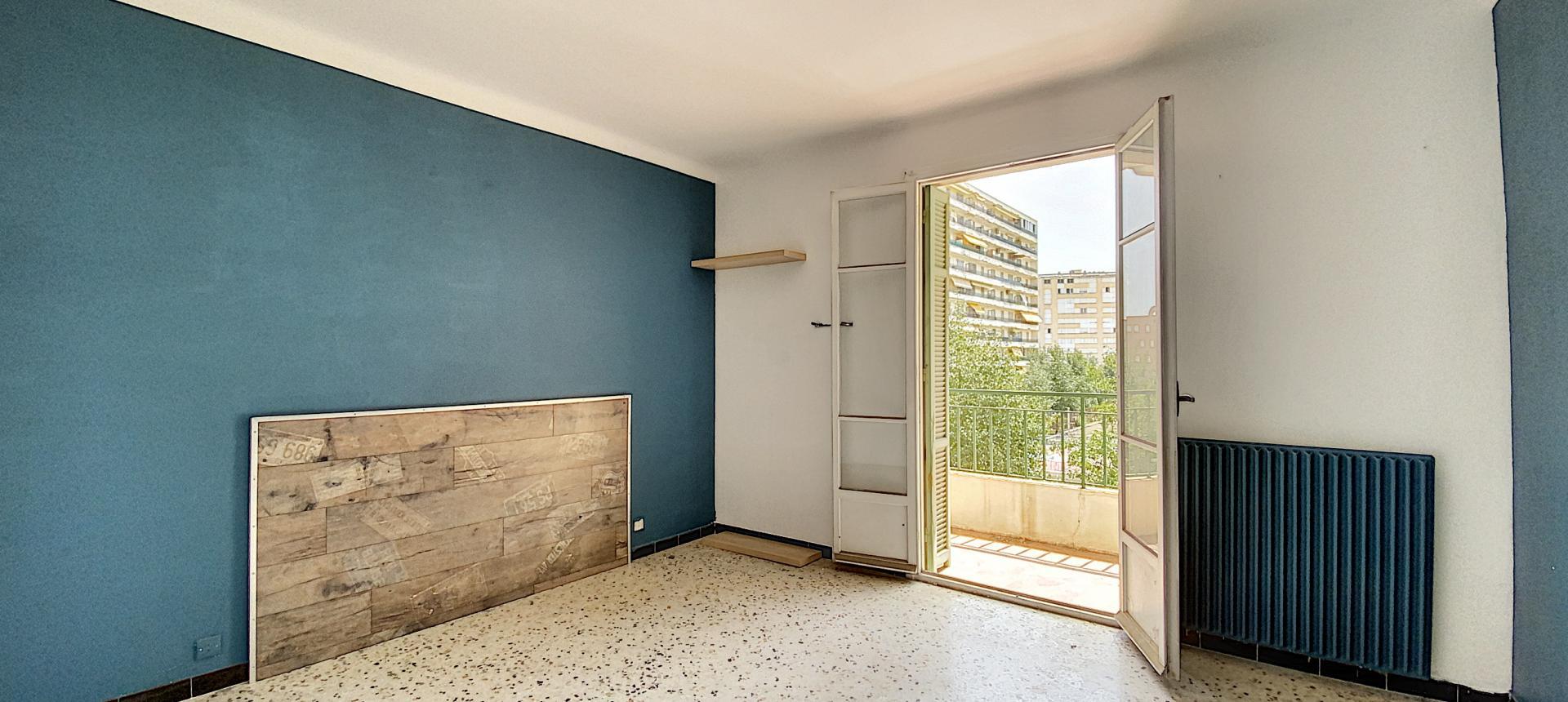 A vendre appartement F3 proche centre-ville - Vue chambre 1