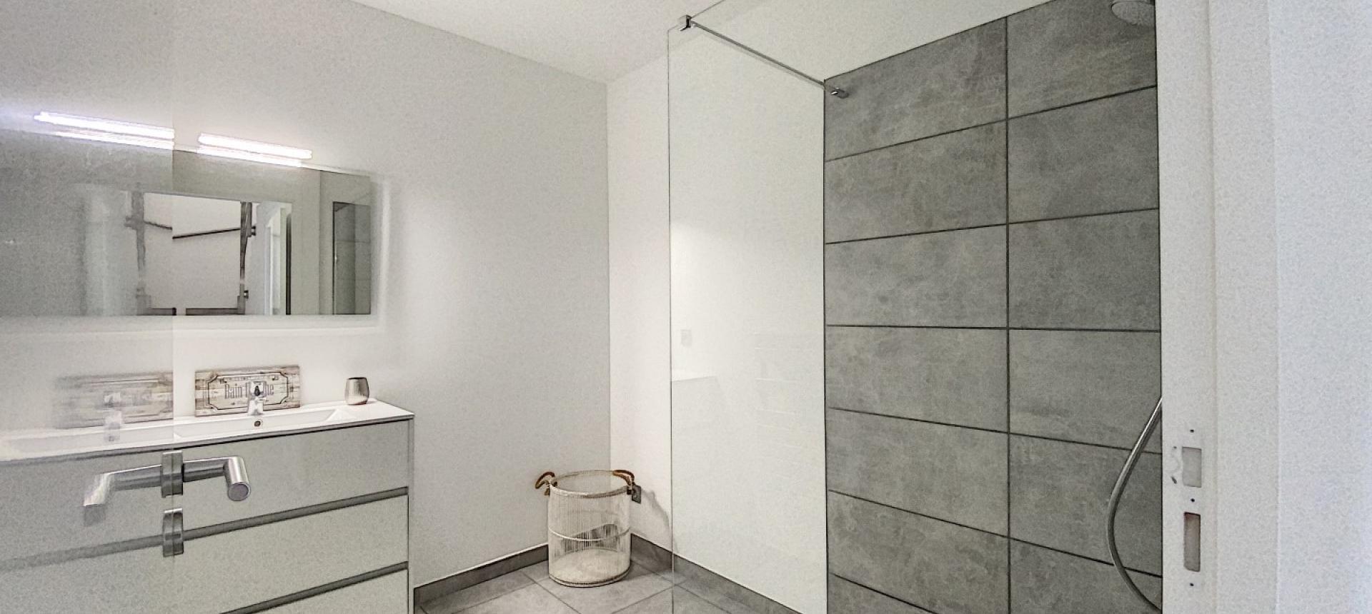 T3 Duplex Stagnola salle de bain