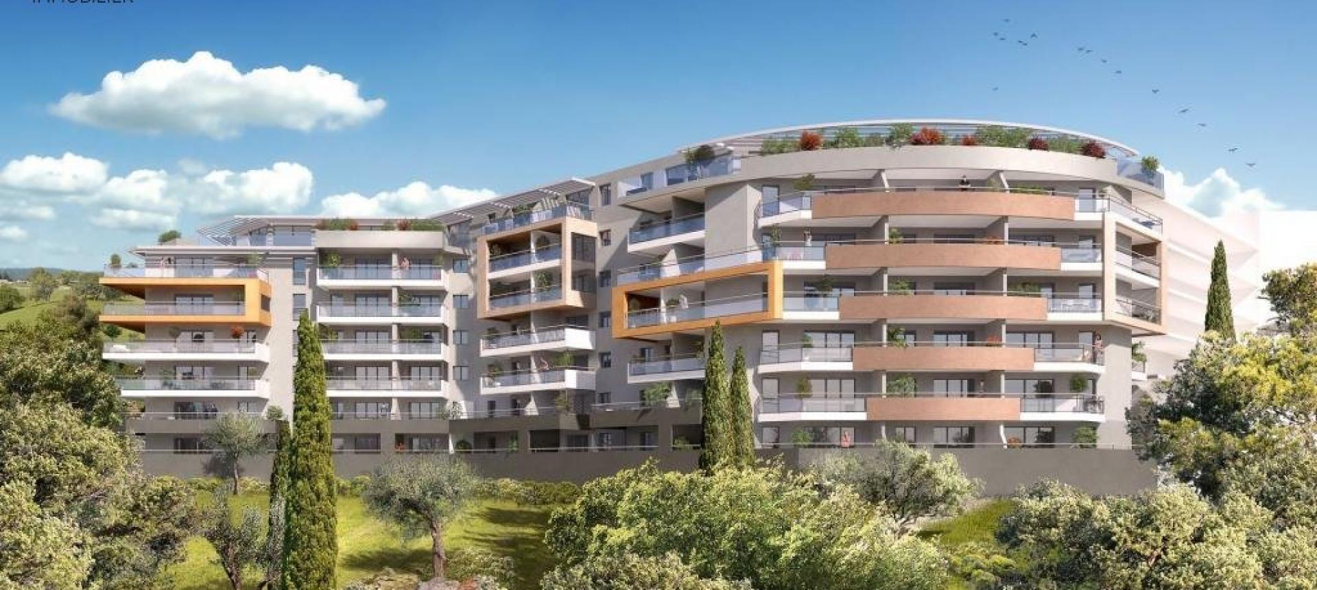 Programme Immobilier Neuf LE GENOVESE en Corse à Ajaccio