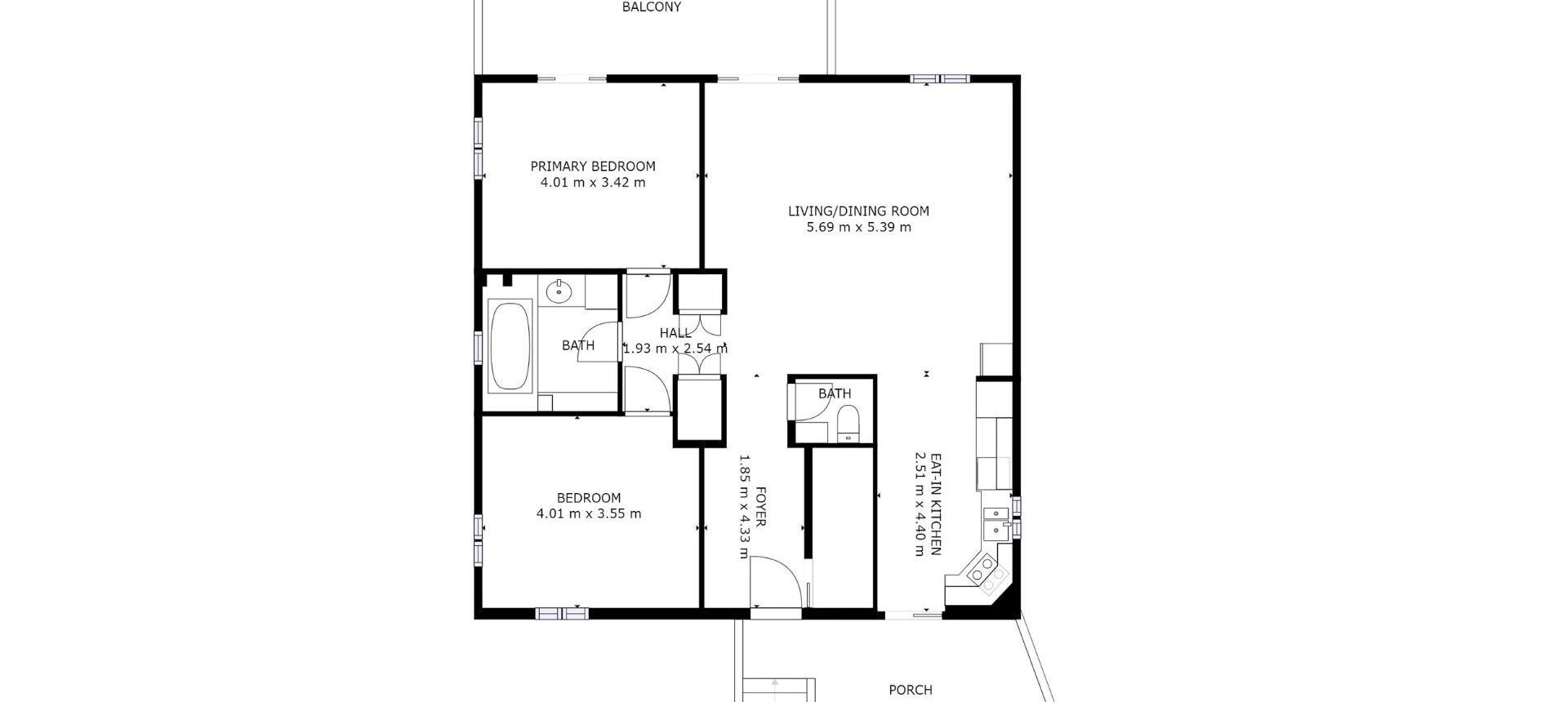 Plan R+1 Villa à vendre avec vue dégagée proche Ajaccio - AFA