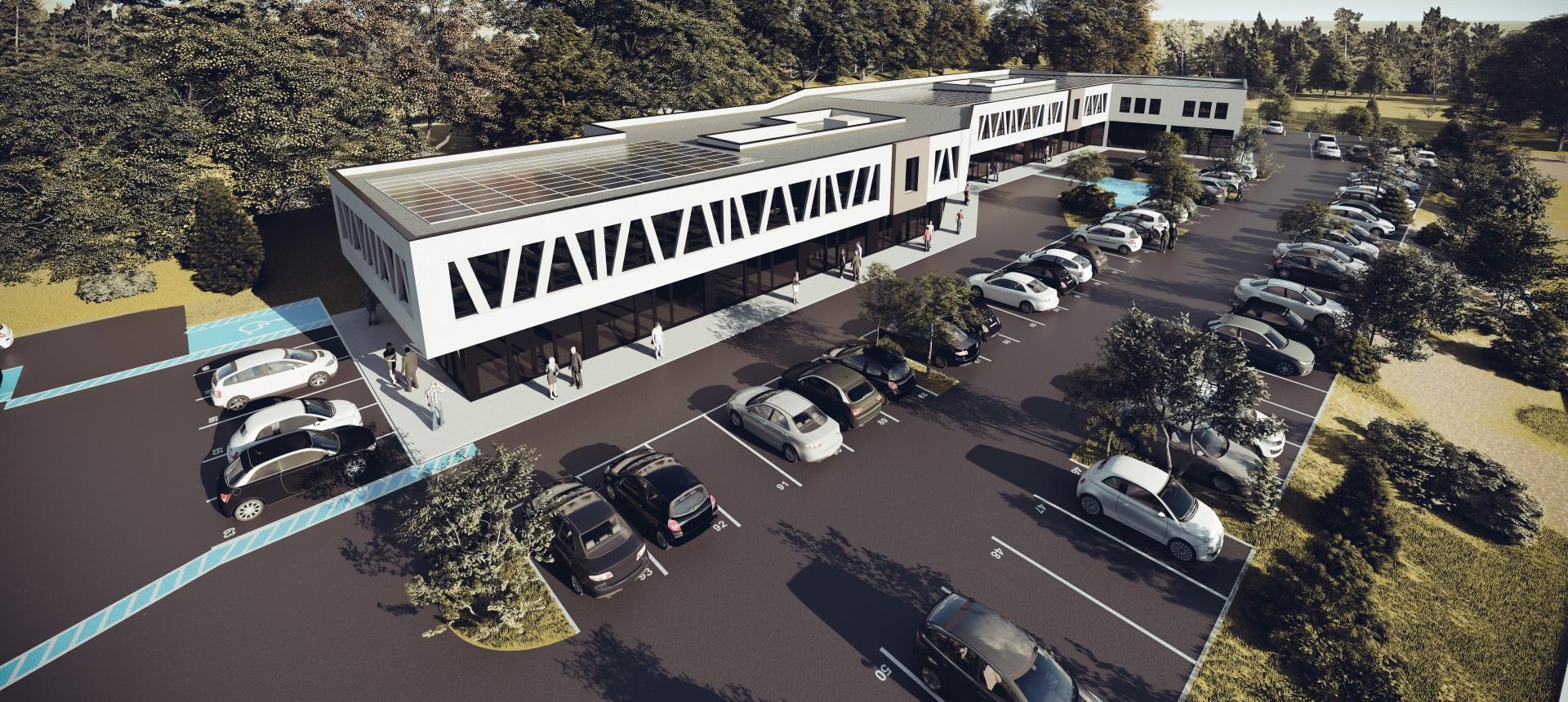 Local à louer Parc activités de  Mezzavia II projet