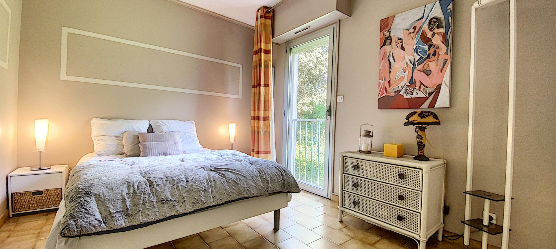vente appartement F3 duplex ajaccio chambre 2