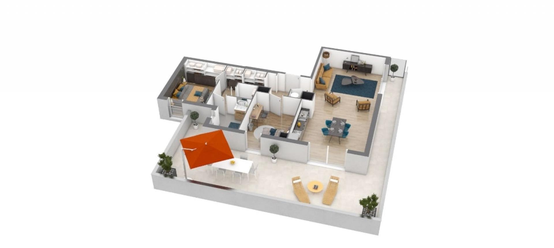 T3 Terrasse de Torretta vue 3D