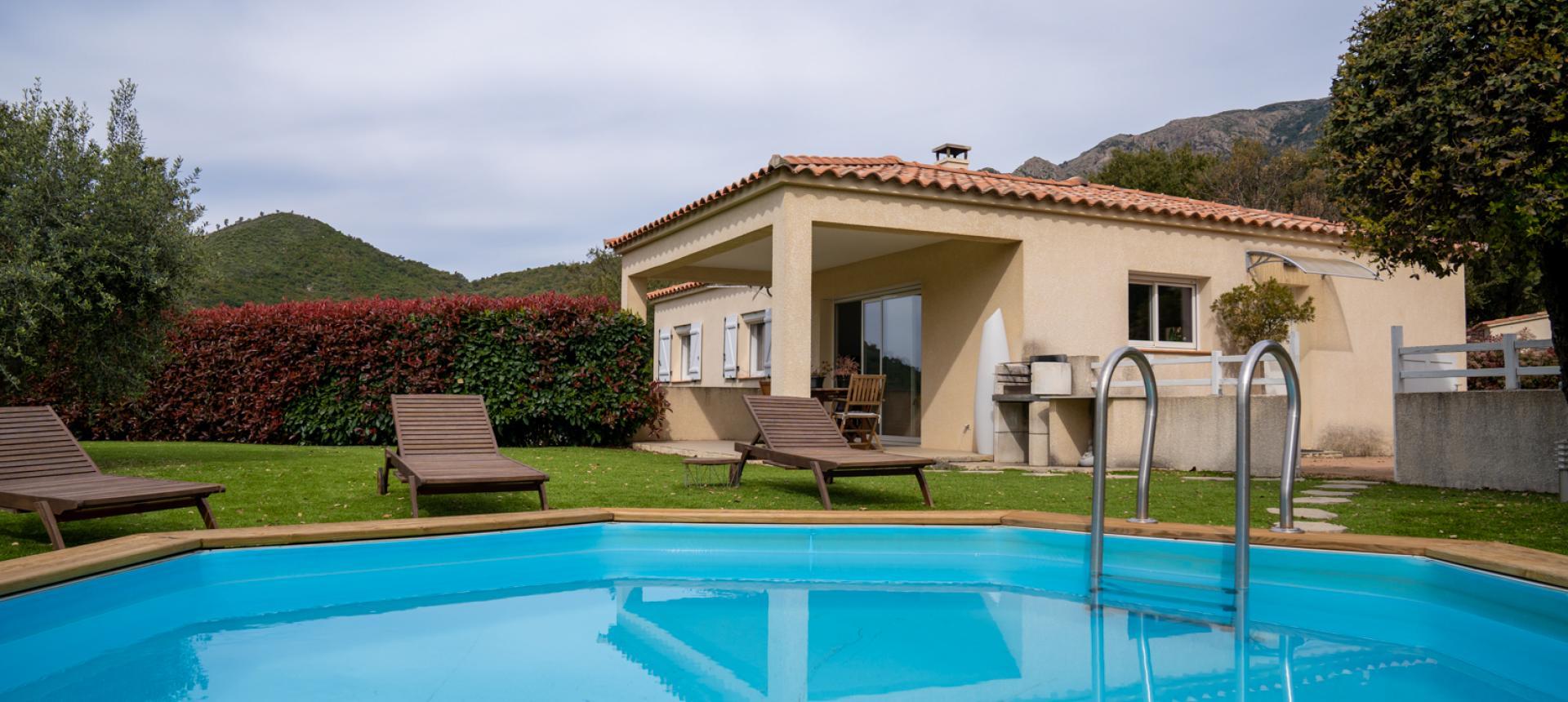 Vente Villa F4 Tavaco  piscine