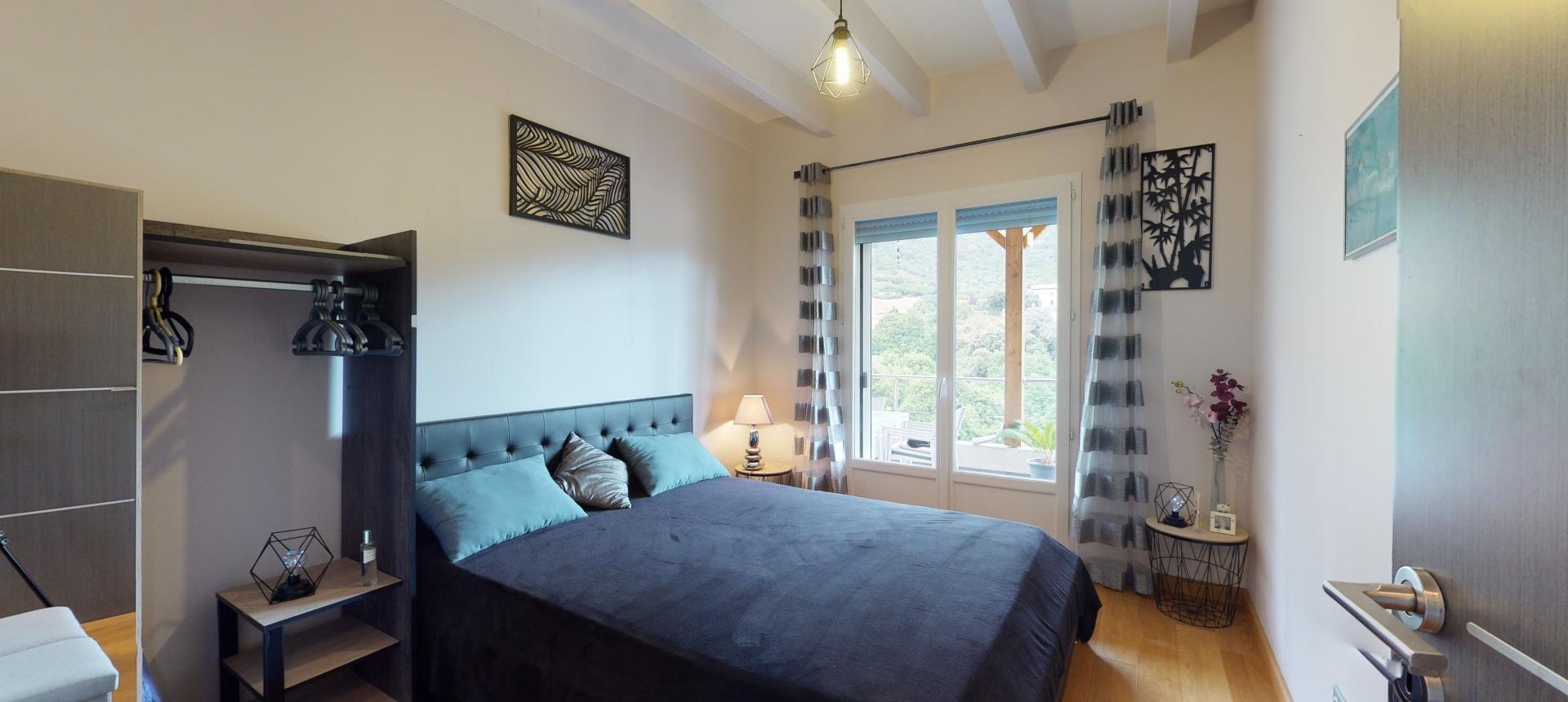 Villa à vendre proche Ajaccio - San Benedetto - Vue chambre 1 RDC