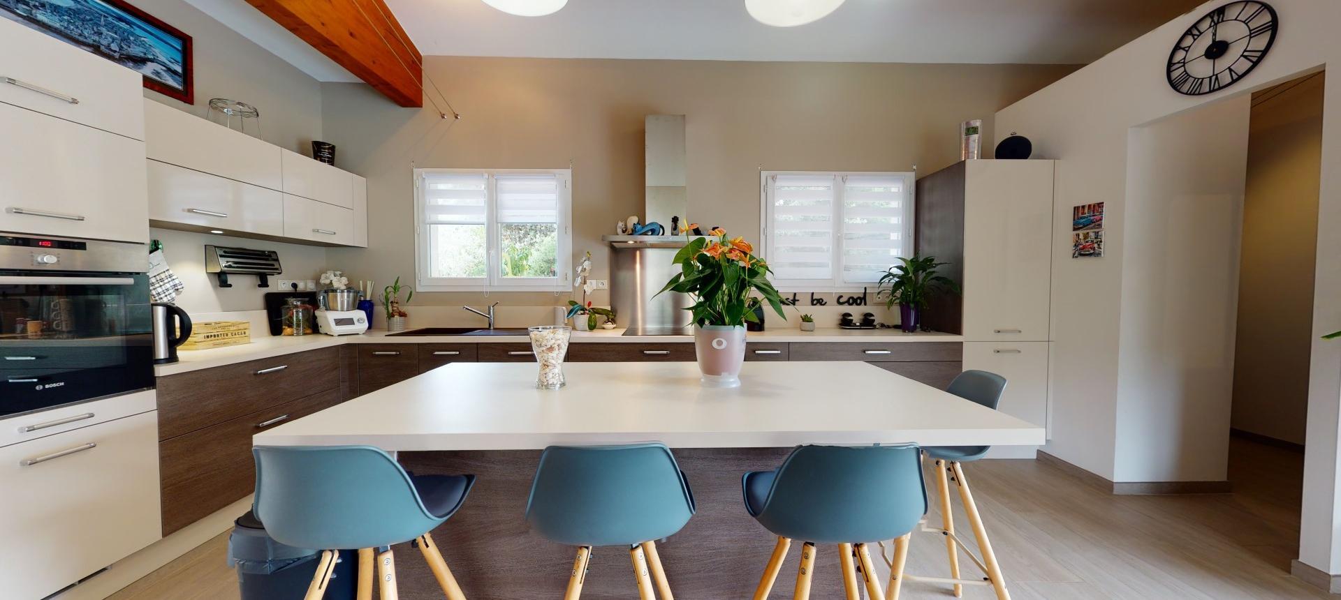 Villa à vendre proche Ajaccio - San Benedetto - Vue cuisine 2 - RDC