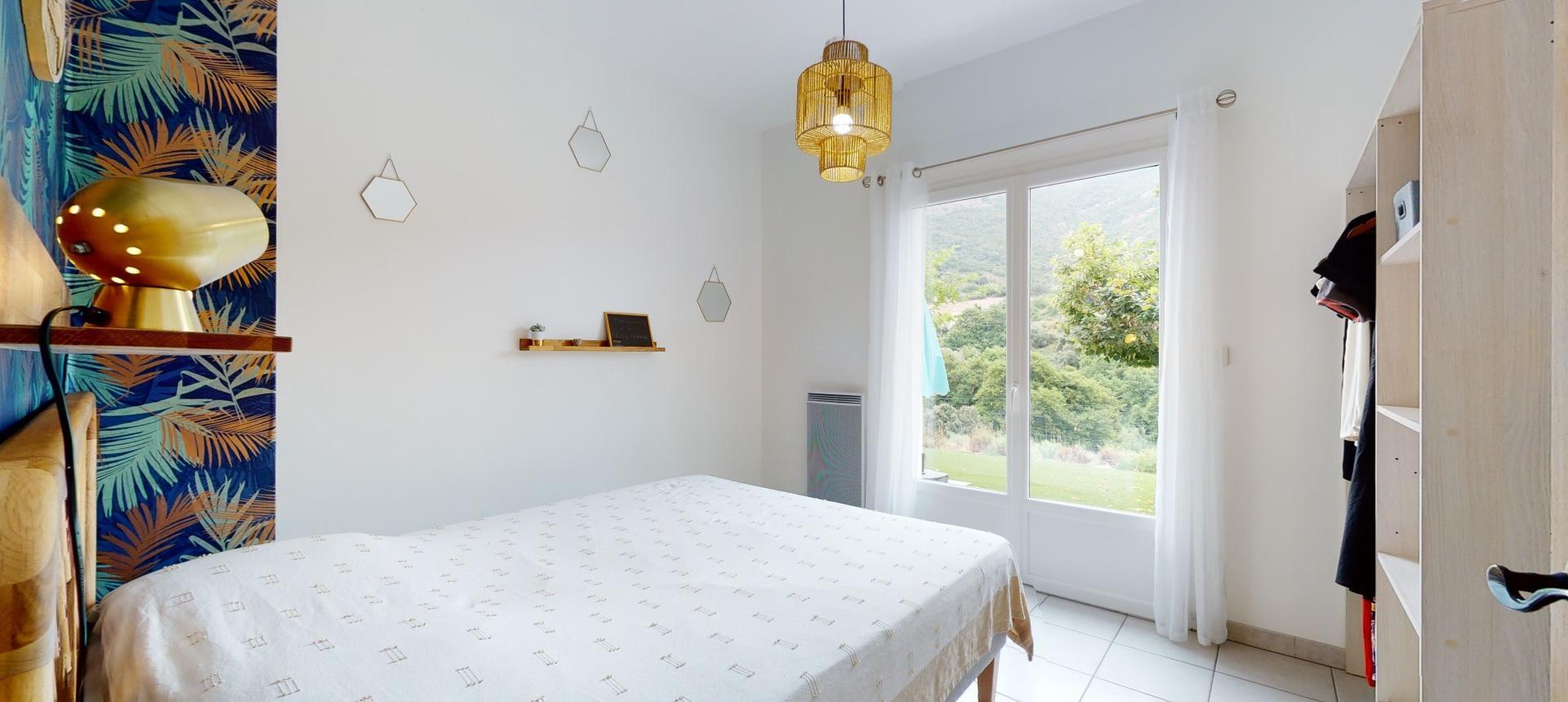 Villa à vendre proche Ajaccio - San Benedetto - Vue chambre 3 - RDJ