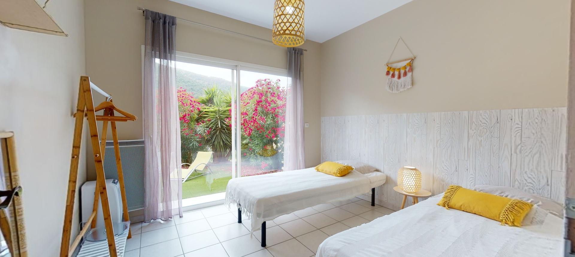 Villa à vendre proche Ajaccio - San Benedetto - Vue chambre 1 - RDJ