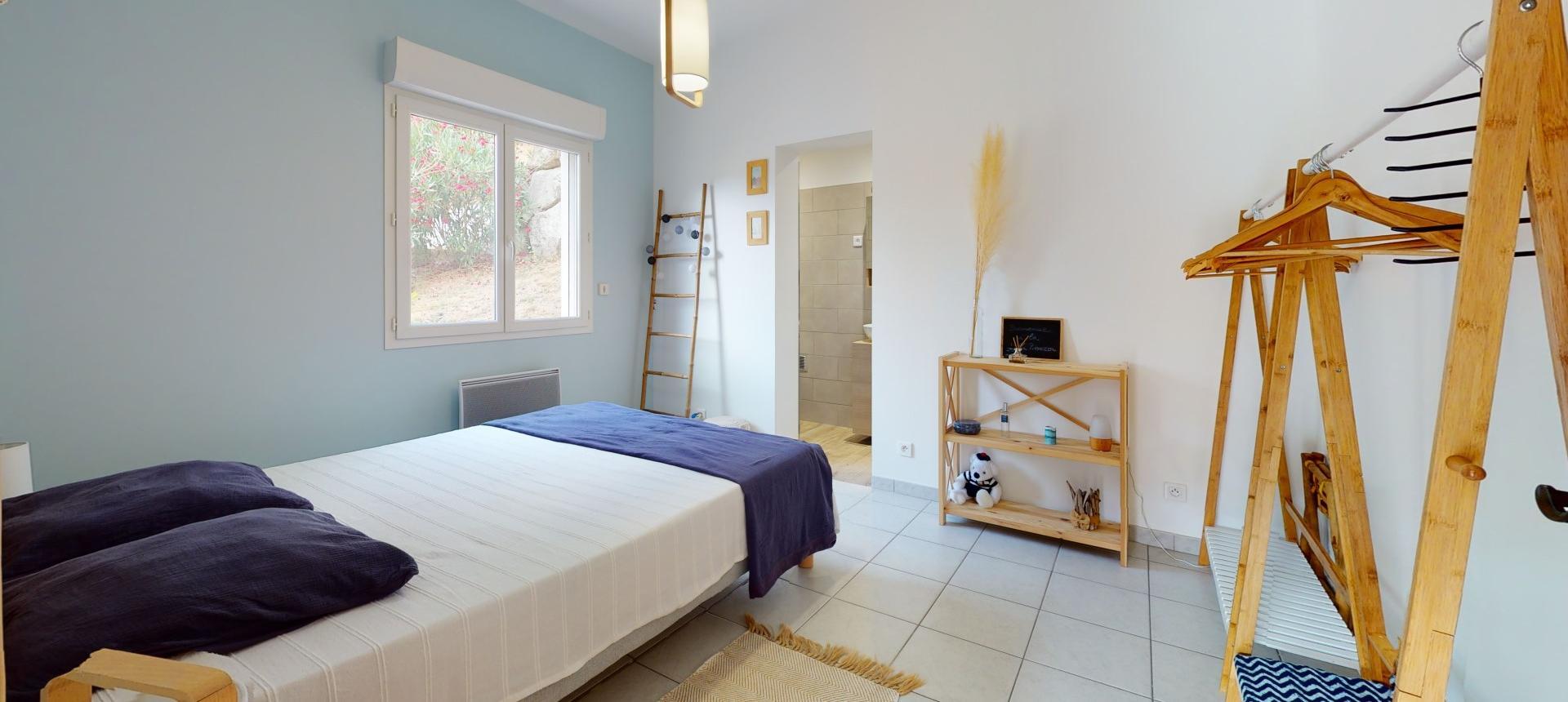 Villa à vendre proche Ajaccio - San Benedetto - Suite parentale RDJ