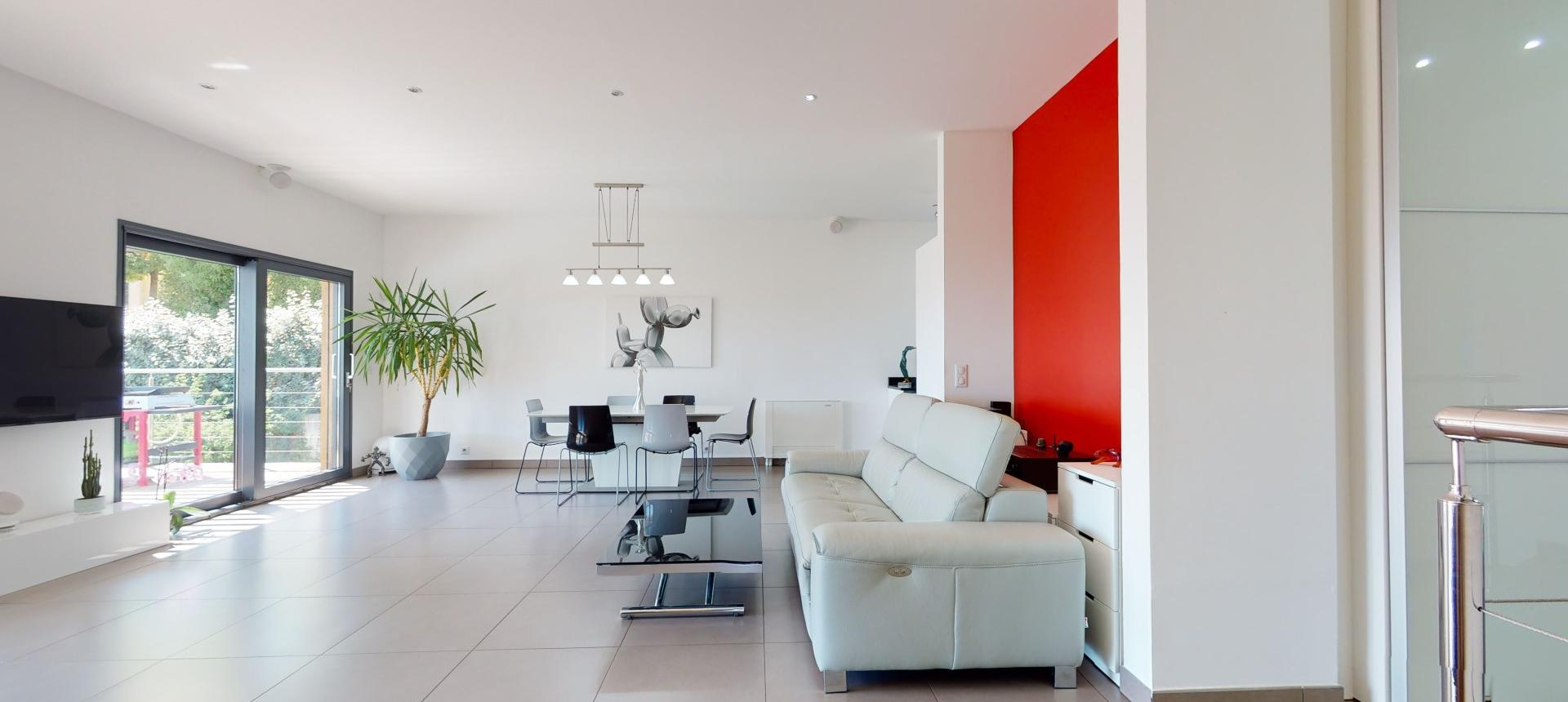 Villa d'architecte à vendre à AJACCIO sejour 2