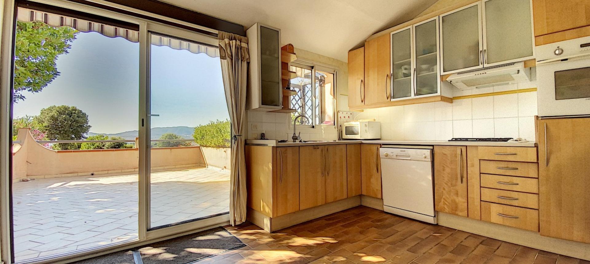 Maison à vendre à Porticcio - Rive sud Ajaccio- Cuisine