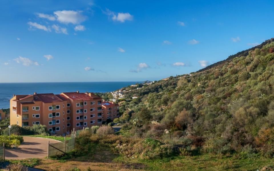 Appartement Route des Sanguinaire , Vue mer , Grandes Terrasses