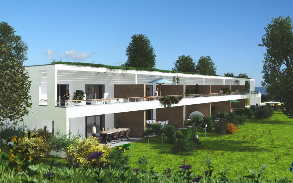 Résidence Ajaccio côté jardin