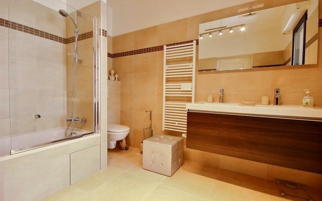 Salle de bain, Appartement F4 à vendre, Sanguinaires, Ajaccio