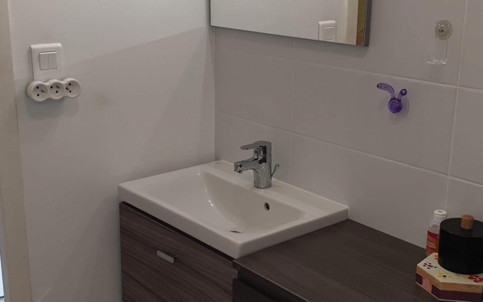 F3 à louer Terrasses du Parc  salle de bains