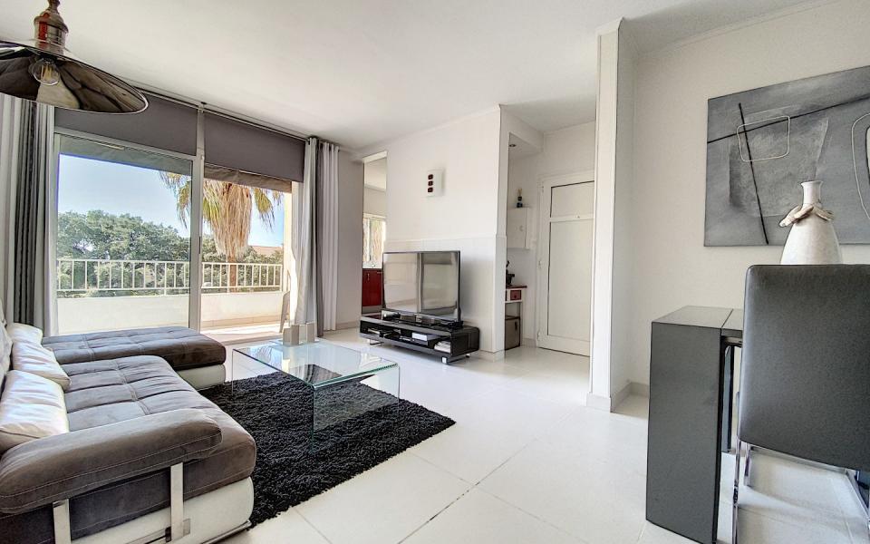 Vente appartement F3-4 duplex Ajaccio séjour