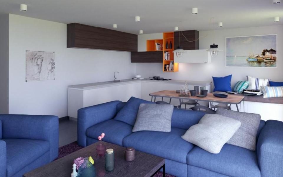 En Corse, à Ajaccio, Vente d'un appartement T4 - Programme Neuf LE CARRE BODICCIONE