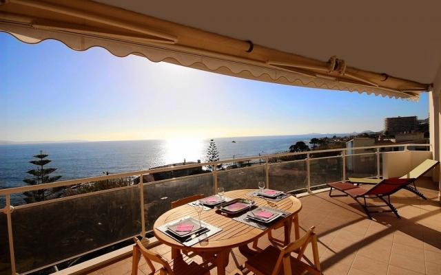 Terrasse, Appartement F3 à vendre, Sanguinaires, Villa Victoria