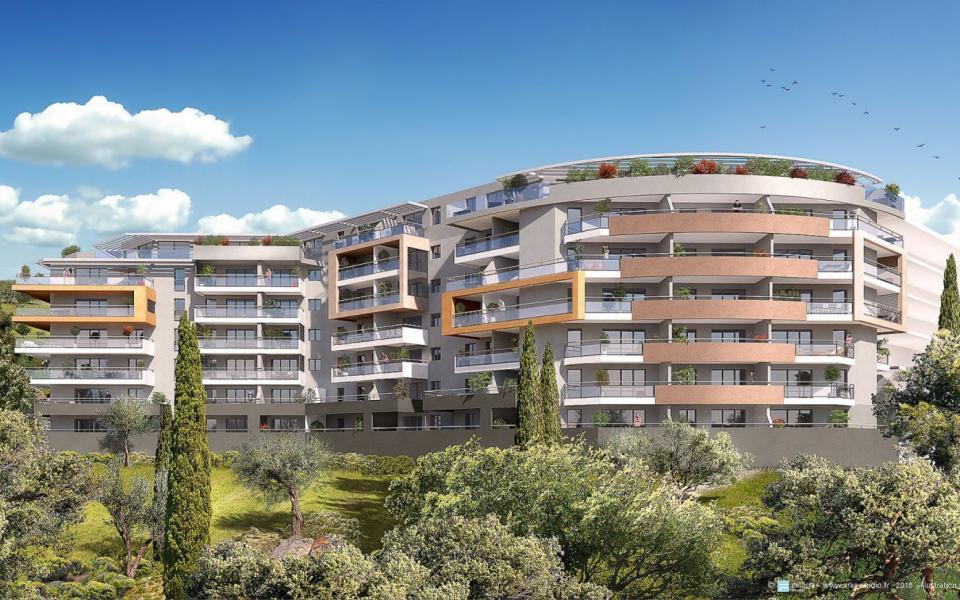 F2 neuf à louer immeuble Pinarellu résidence Genovèse