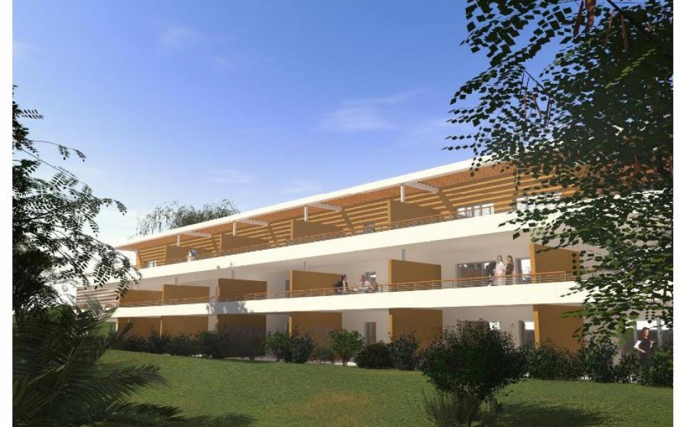 T2 RESIDENCE DU FORT facade