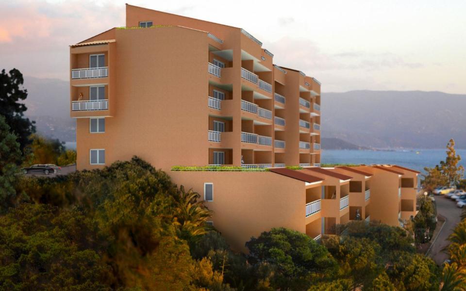 En Corse, à Ajaccio, Vente d'un T2, Programme Neuf LE PANORAMIQUE