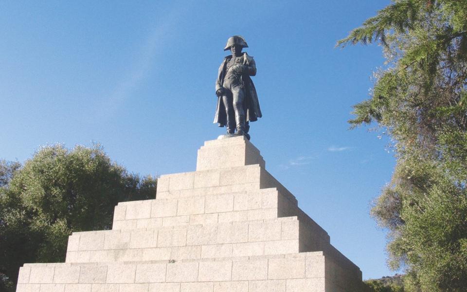 L'histoire des statues d'Ajaccio